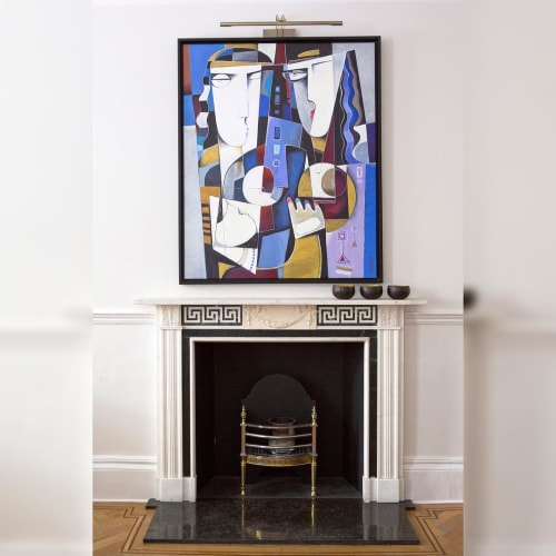 Paintings by Paul Ygartua seen at Private Residence, London - Painting