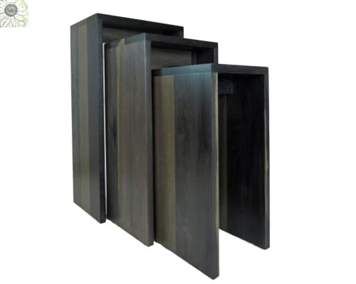Tables by March Legend® seen at The Arts Place, Danbury - LJ Modern Craftsman Nesting Tables
