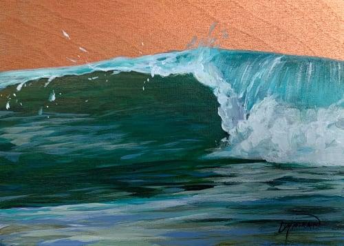 Ocean #35   Paintings by Lindsey Millikan (Milli)