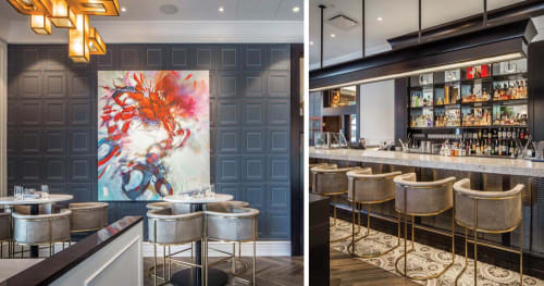 Interior Design by BBA Design Consultants Inc. seen at The Courtney Room, Victoria - Interior Design