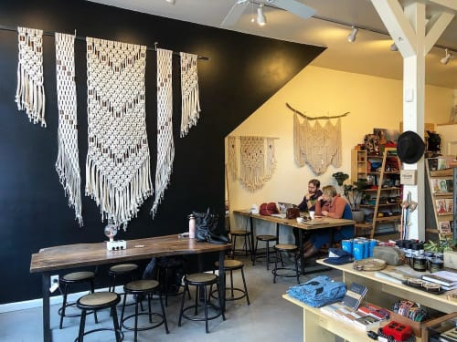 Macrame Wall Hanging by Midnight Soul Designs seen at Howl Mercantile & Coffee, Salida - Macrame Wall Hanging