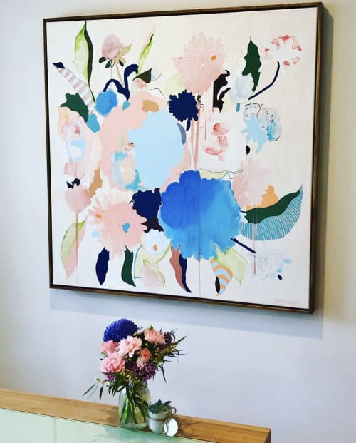 Paintings by Beth Kennedy seen at Private Residence, Ferny Grove - Summer Breeze