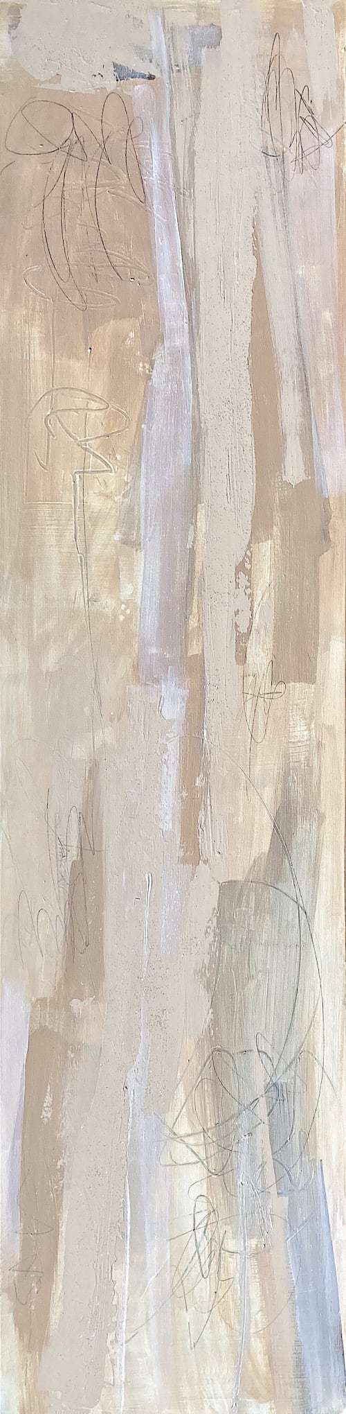'THERE, THERE' original abstract painting by Linnea Heide   Paintings by Linnea Heide contemporary fine art