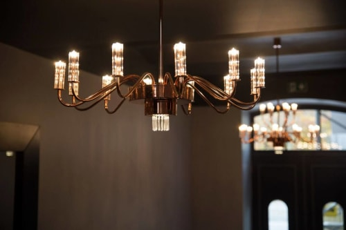 Chandeliers by SEOS seen at Private Residence, Tallinn - Greta