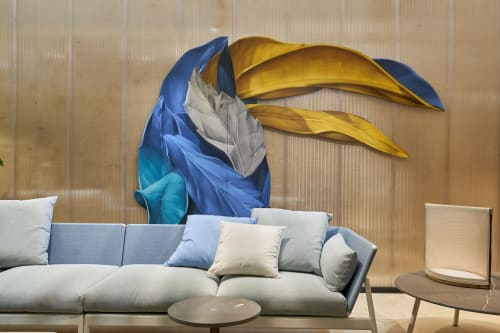 Wall Hangings by Alessandro Etsom seen at Rho Fiera Milano, Rho - Outdoor Rooms - Toucan