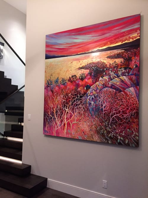 Paintings by BLYTHE SCOTT seen at Private Residence, Victoria - 'Abundance'
