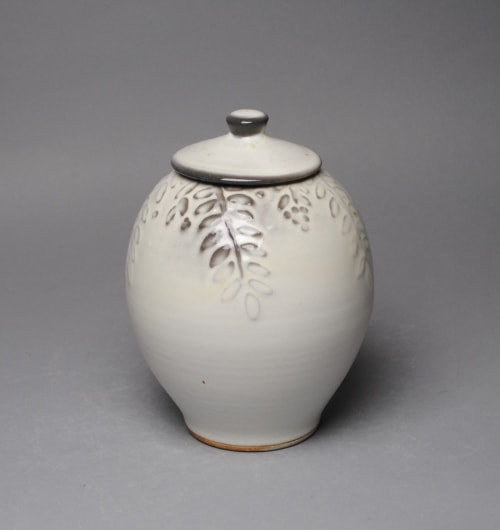 Vases & Vessels by John McCoy Pottery seen at Private Residence, Village of Pelham - Covered Jar