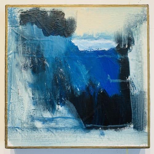 Paintings by Rhea Ashcraft Art seen at Creator's Studio, Solana Beach - beyond blue waters