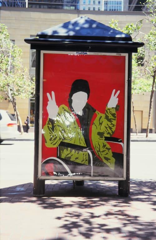 Art & Wall Decor by Kara Maria seen at San Francisco, San Francisco - Art on Market Street Kiosk Poster Commission