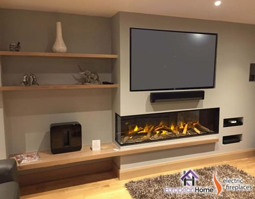 Interior Design by European Home seen at 30 Log Bridge Rd, Middleton - E72 Electric Fireplace