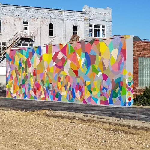 Murals by Carla Markwart Art seen at Galesburg, Galesburg - BOX Mural