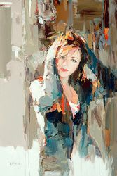 "Art & Wall Decor by YJ Contemporary seen at YJ Contemporary Fine Art, East Greenwich - Josef Kote ""Unexpected Light"""