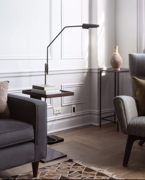 Lamps by Lumifer by Javier Robles seen at Private Residence, Brooklyn - Switch Floor Lamp