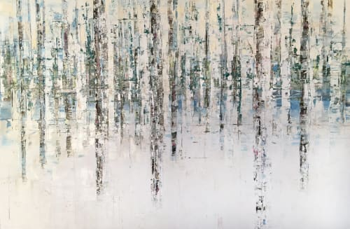 Paintings by Stephanie Thwaites seen at Private Residence, Long Beach - Winter Palace