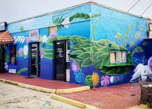 Kole Trent - Murals and Street Murals