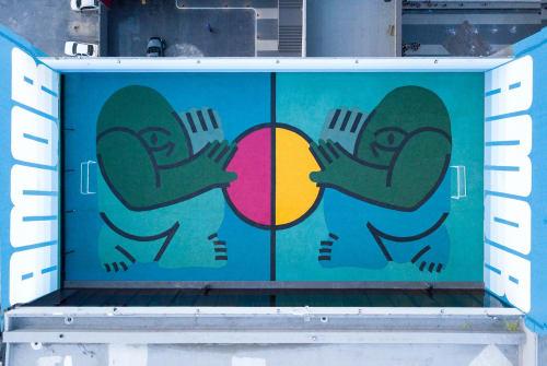 Efdot - Murals and Art
