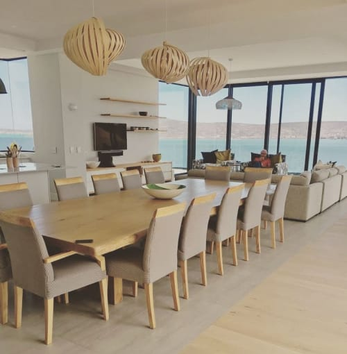 Pendants by Louw Roets seen at Private Residence, Langebaan - Nautilus Pendant