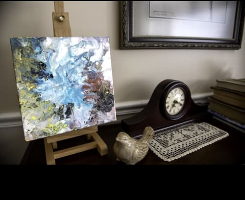 Paintings by Reade C Gloeckner Fine Art seen at Private Residence, Syracuse - Blow Fish