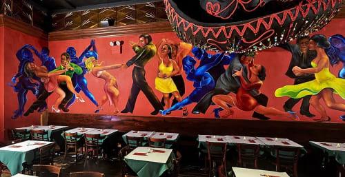 Murals by Jeramy Turner Murals seen at Gonzalez y Gonzalez, New York - Salsa Club