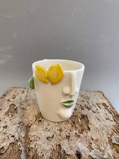 Cups by Patrizia Italiano seen at Filicudi - Fish And Prickly Pear Mugs