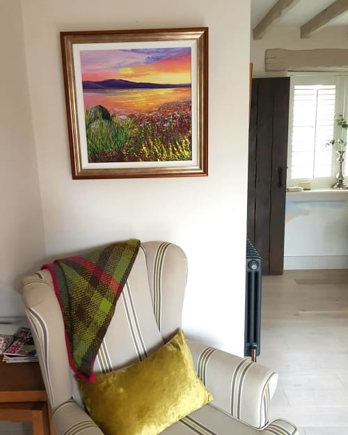 Paintings by Carolina Arbuthnot seen at Private Residence, Solihull - Painting (nature)