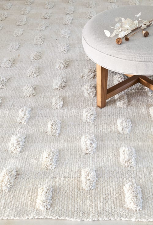 Rugs by AWANAY seen at Private Residence, Buenos Aires Province - MARGARITAS RUG