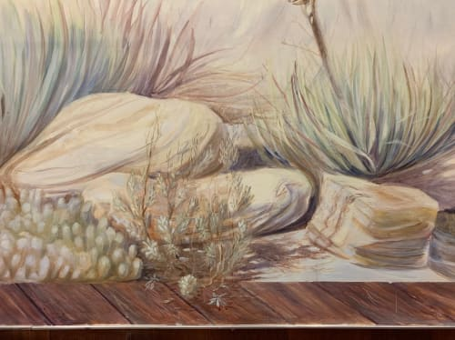 Murals by Very Fine Mural Art - Stefanie Schuessler seen at Antelope Valley Cancer Center, Palmdale - 'Early Morning', Indoor Mural