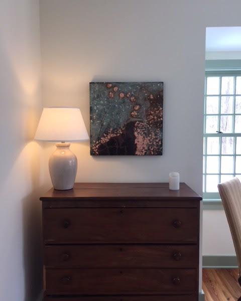 Paintings by Patricia Gerkin seen at The Berkshires, Sandisfield - Fireflies