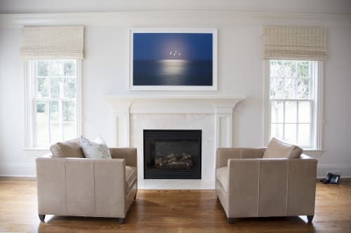 Photography by Chris Becker Photo at Private Residence, Greenwich - Moon Over Atlantic #9