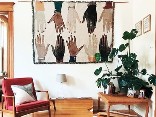 Wall Hangings by Clementine Studio seen at Private Residence, Chicago - Humanity Blanket