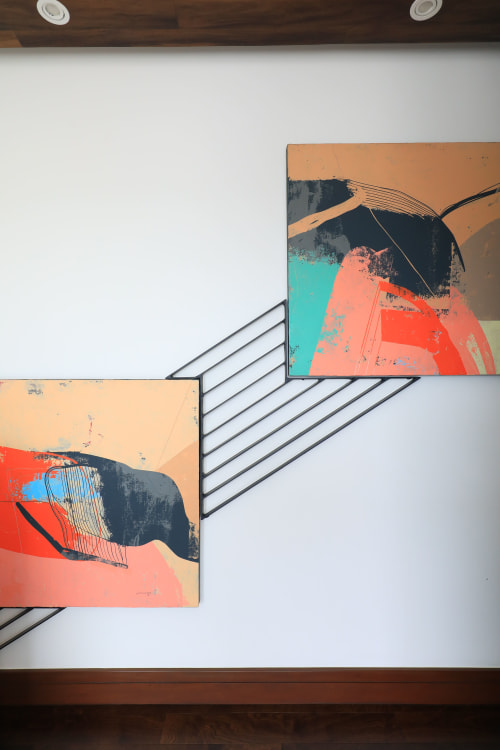 Paintings by Rick Hernandez seen at Private Residence, Quezon City, Quezon City - Peak and Gills