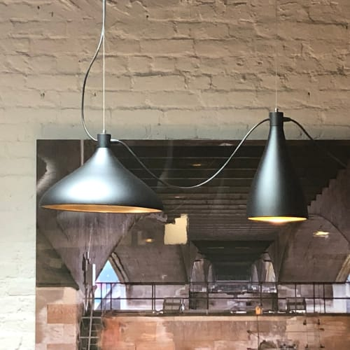 Pendants by Hive seen at East One Coffee Roasters, Brooklyn - Swell 3 String Light