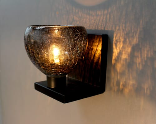 Sconces by LUMi Collection seen at Private Residence, Seattle - ACQUA Sconce