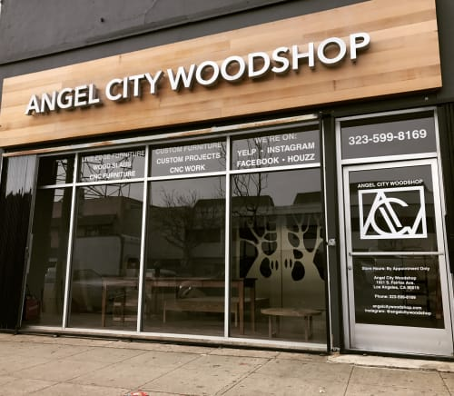 Angel City Woodshop - Furniture and Wall Treatments