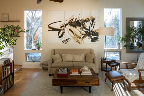 Paintings by John Platt seen at Private Residence - The Thrill of it All