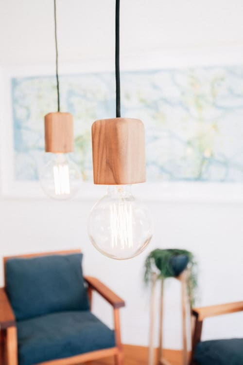 Pendants by JD.Lee Furniture seen at The Plant Room, Manly - Bodhi Pendants