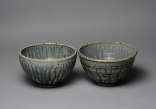 Tableware by John McCoy Pottery seen at Private Residence, Hartford - Soup bowls set of two