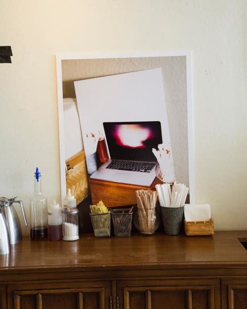 Photography by Aaron Farley seen at Kaldi Coffee, Los Angeles - Photo Print