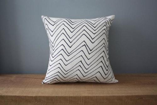 Chevron | Organic Cotton Pillow | Pillows by Little Korboose