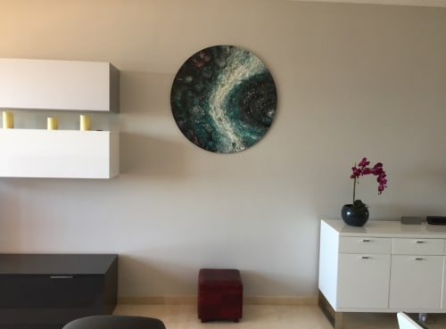 Paintings by Elendenart seen at Private Residence, Manilva - Nebula