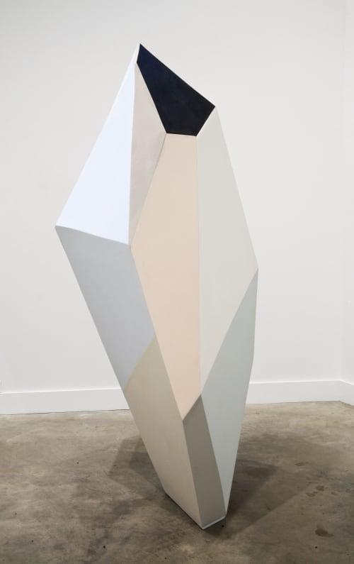 Sculptures by Dameon Lester seen at grayDUCK Gallery, Austin - Mass Balance