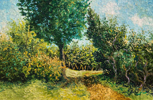 """Paintings by Rob Crombie seen at Private Residence, Cuyahoga Falls - """"Spring"""""""