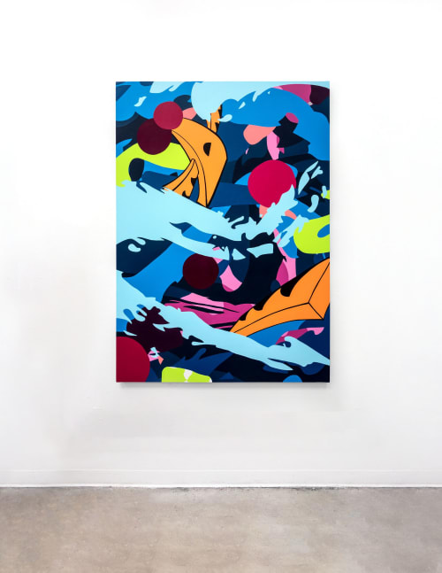 Paintings by Raquel Da Silva seen at Toronto, Toronto - Profundum
