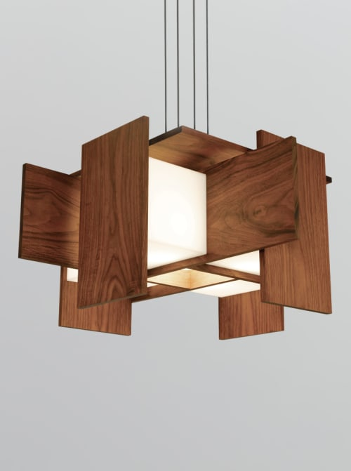 Pendants by Cerno seen at Private Residence, Phoenix - Muto Pendant Light