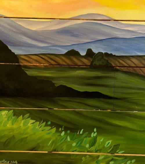 Murals by Sunny Mullarkey Studio seen at Husk Greenville, Greenville - Mural (Greenville)