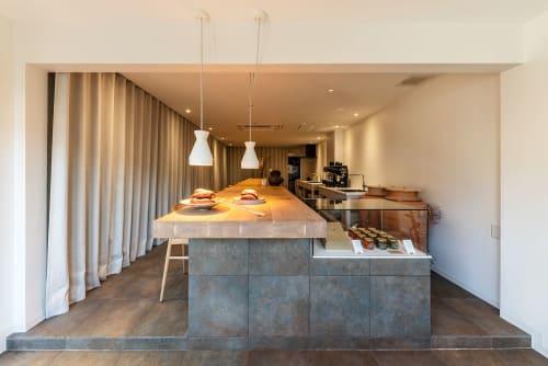 Interior Design by MIKIYA KOBAYASHI & IMPLEMENTS seen at Tokyo, Japan - OIMO CAFE