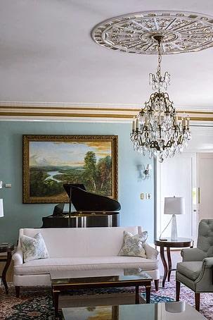 Interior Design by Zachary Luke Designs at The Morehead Inn, Charlotte - Interior Design