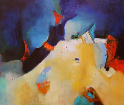 Paintings by Cecilia Arrospide at Private Residence - Lima, Peru, Lima - UNTITLED VIII