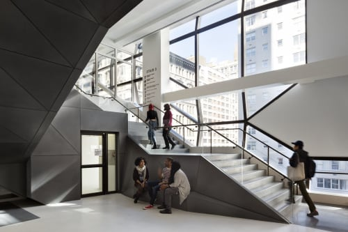 Architecture by Skidmore, Owings & Merrill seen at New York, New York - University Center – The New School