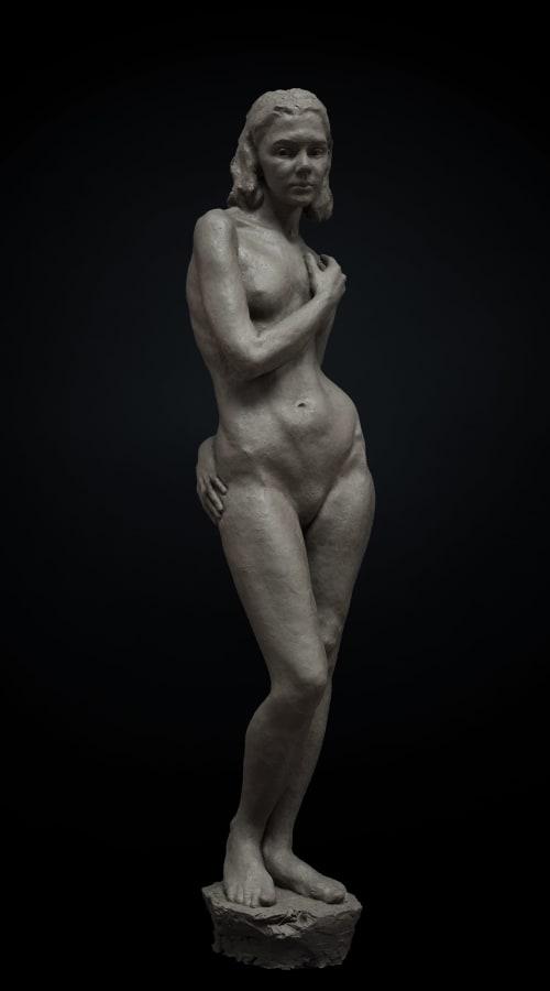Sculptures by Ange Schmiert seen at Private Residence, Salzburg - Ellen